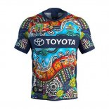 North Queensland Cowboys Rugby Jersey 2018-19 Indigenousus