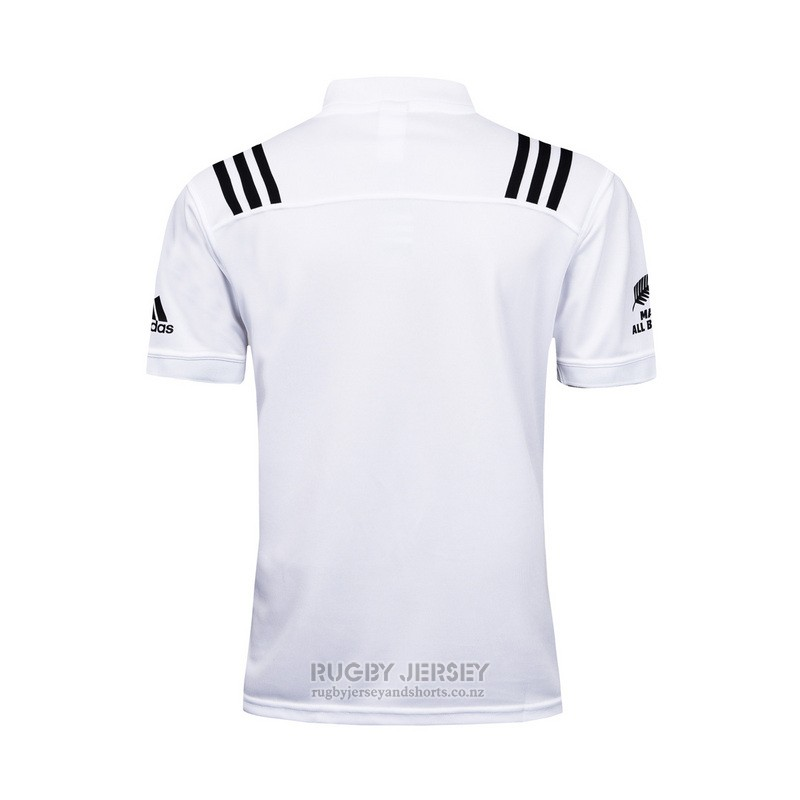 New Zealand All Blacks Rugby Jersey 2017 Training White
